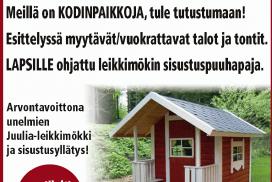 Tammelan Kylät Rakenna Sisusta Asu -messuilla Forssassa 27.-28.1.2018