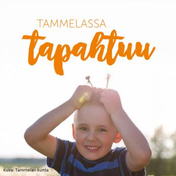 Ilmoita tapahtumatietosi Tammelassa tapahtuu 2018 julkaisuun 9.3.2018 mennessä!