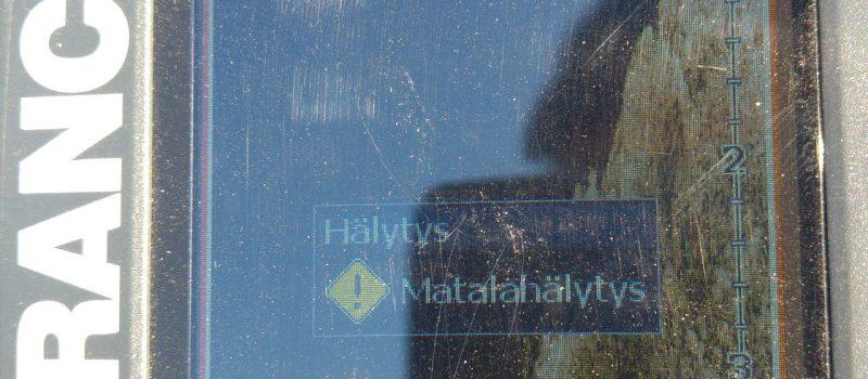 Pyhäjärven karttaan merkitsemätön karikko
