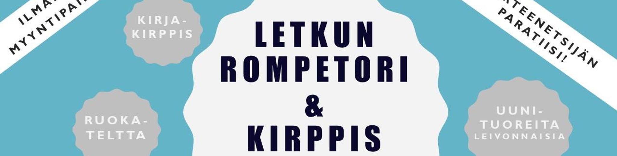 Letkun rompetori & kirppis 18.8.2018