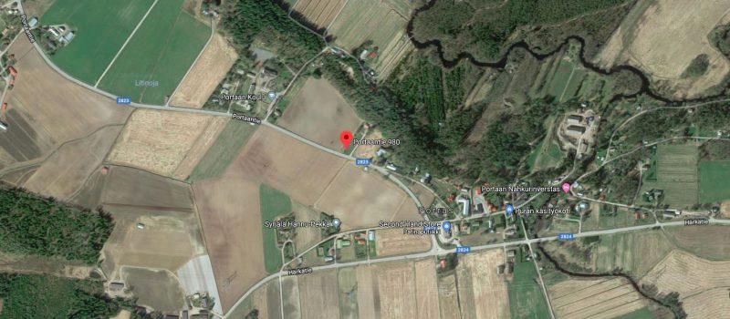 Myydään: Tontti, Portaantie 980, 31340, Porras.